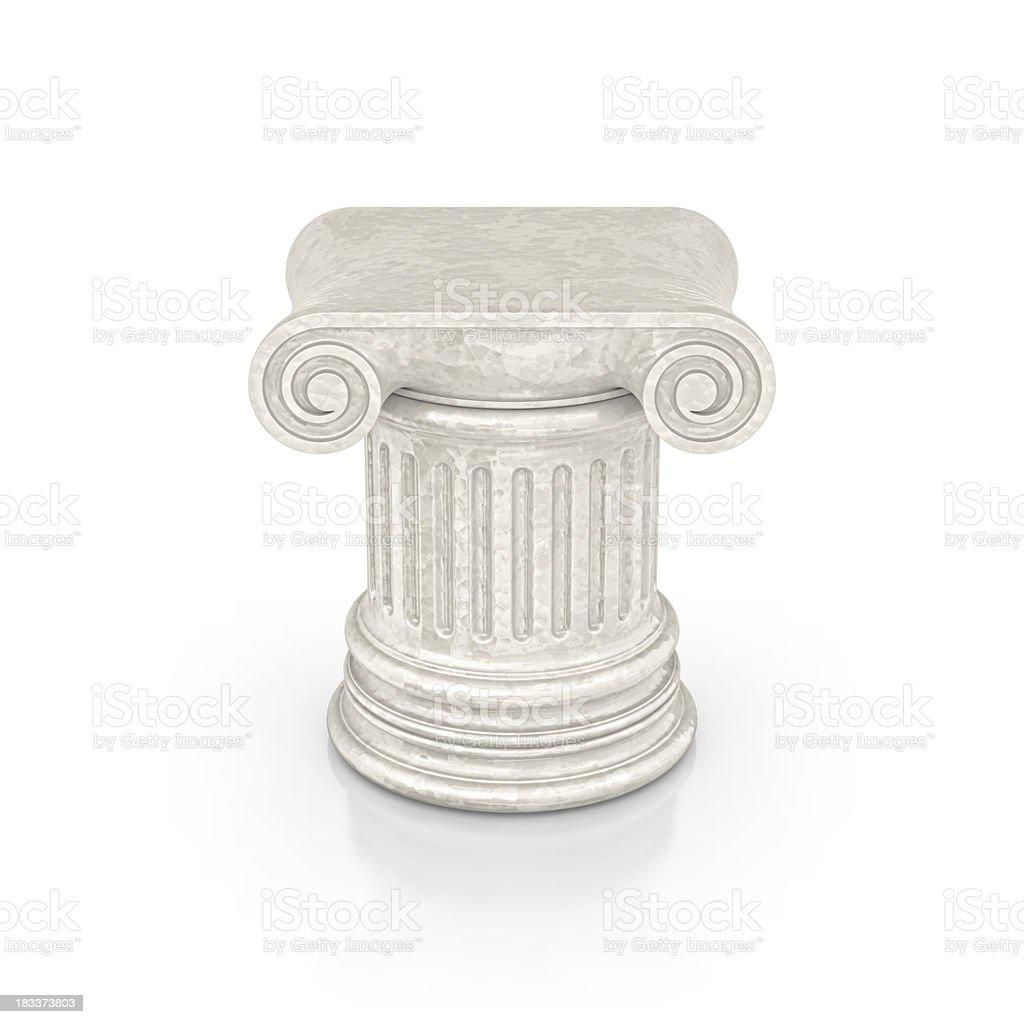 marble column royalty-free stock photo