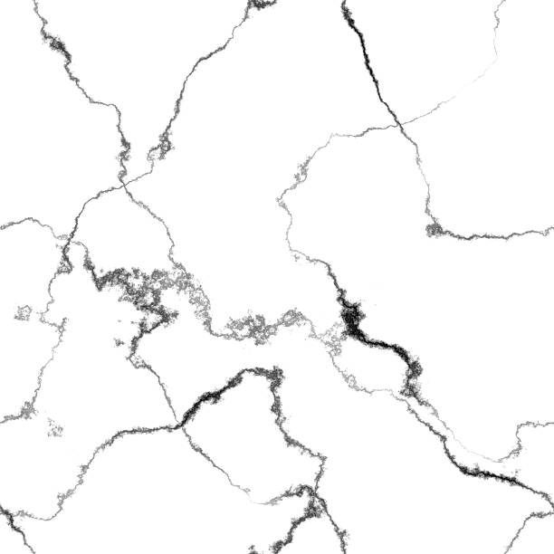 Marble cracks seamless generated hires texture stock photo