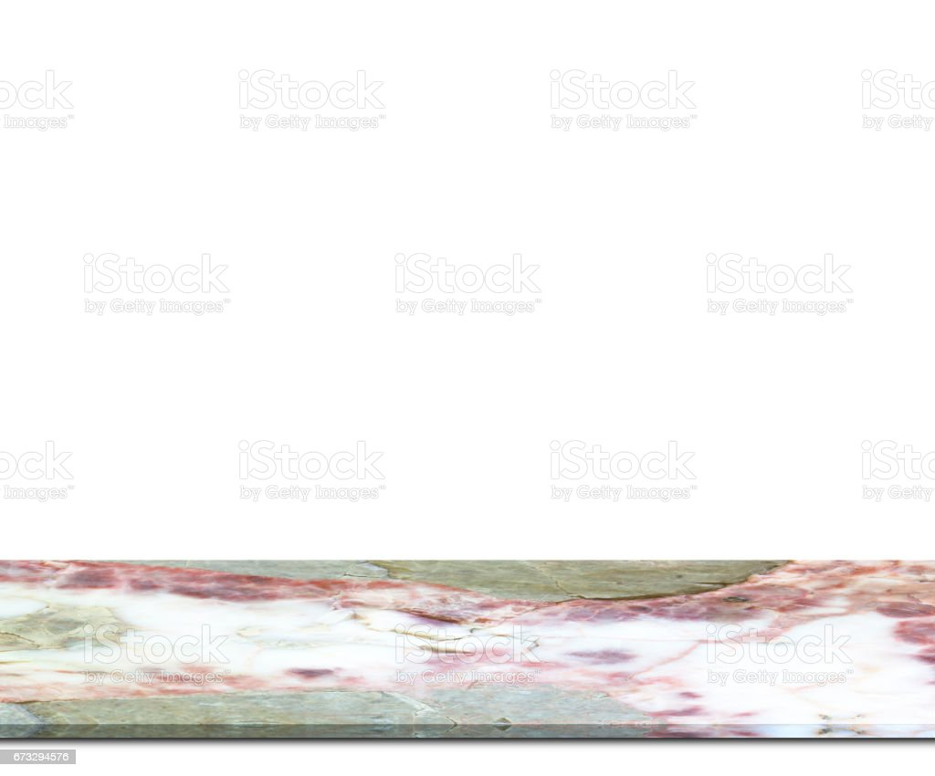 Marble floor counter isolated royalty-free stock photo