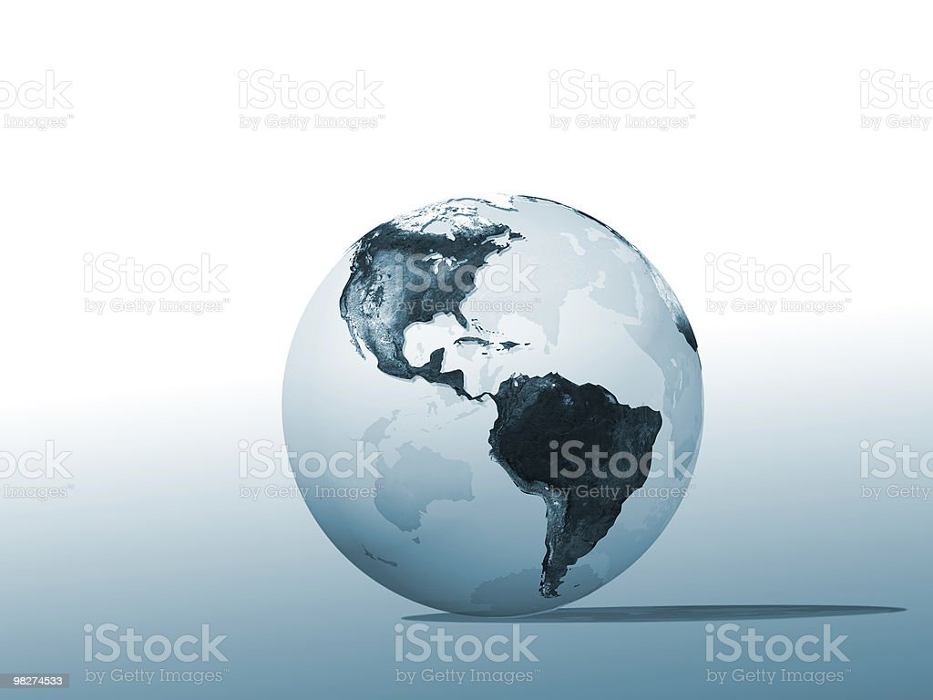 Marble Globe royalty-free stock photo