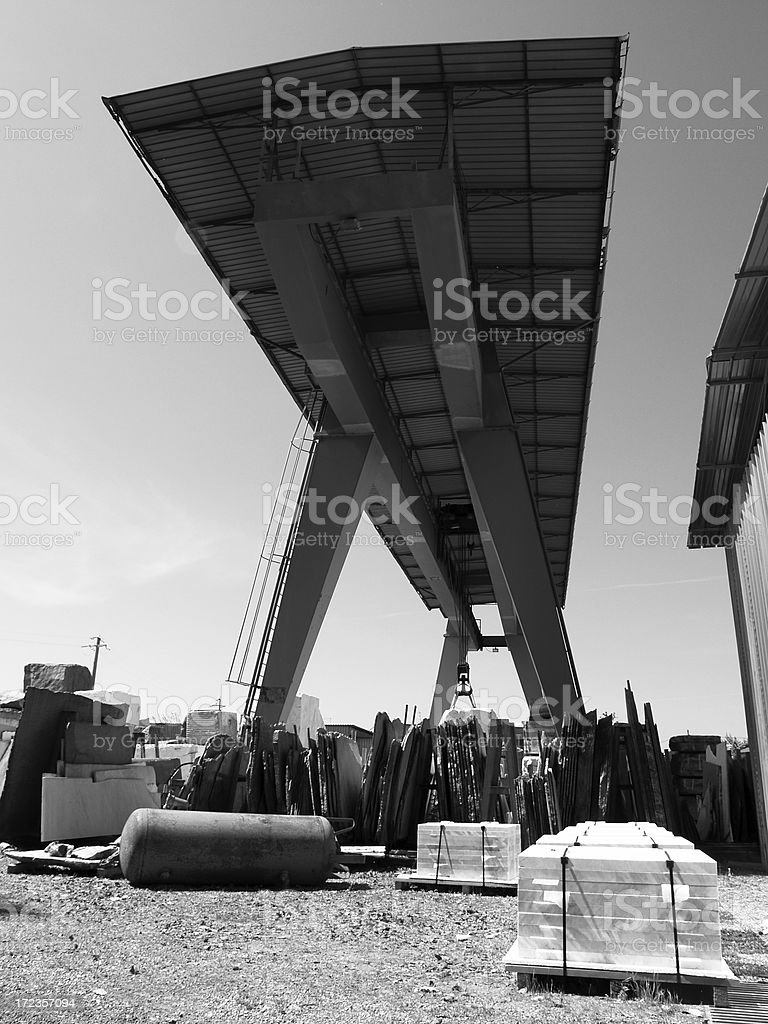 Marble Industry. royalty-free stock photo