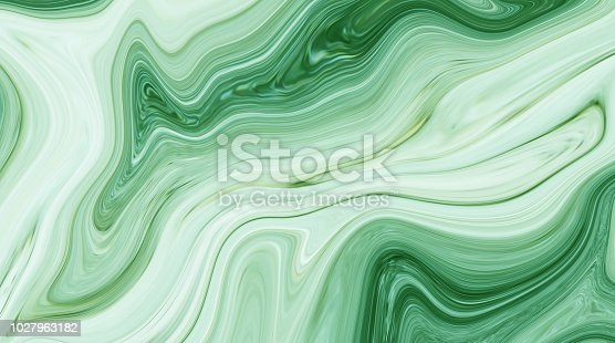 istock Marble ink colorful. Green marble pattern texture abstract background. can be used for background or wallpaper 1027963182