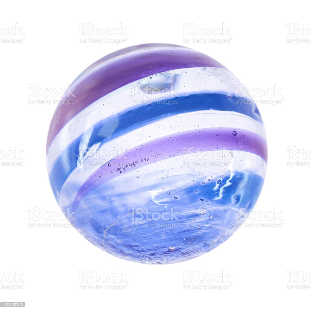 marble isolated on white stock photo