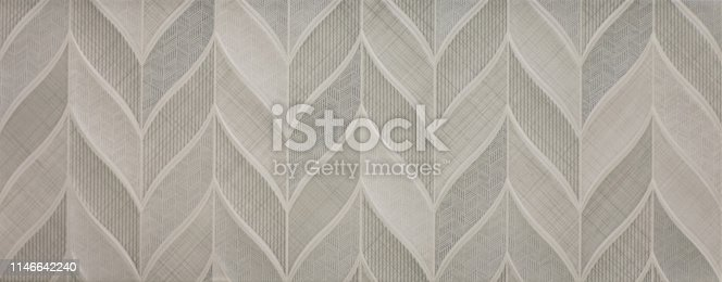 istock marble kitchen wall tile with abstract mosaic geometric pattern, vintage paper texture 1146642240