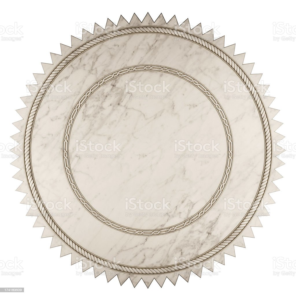 Marble Label royalty-free stock photo