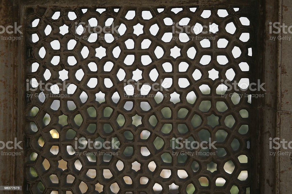Mesh in marmo schermo foto stock royalty-free