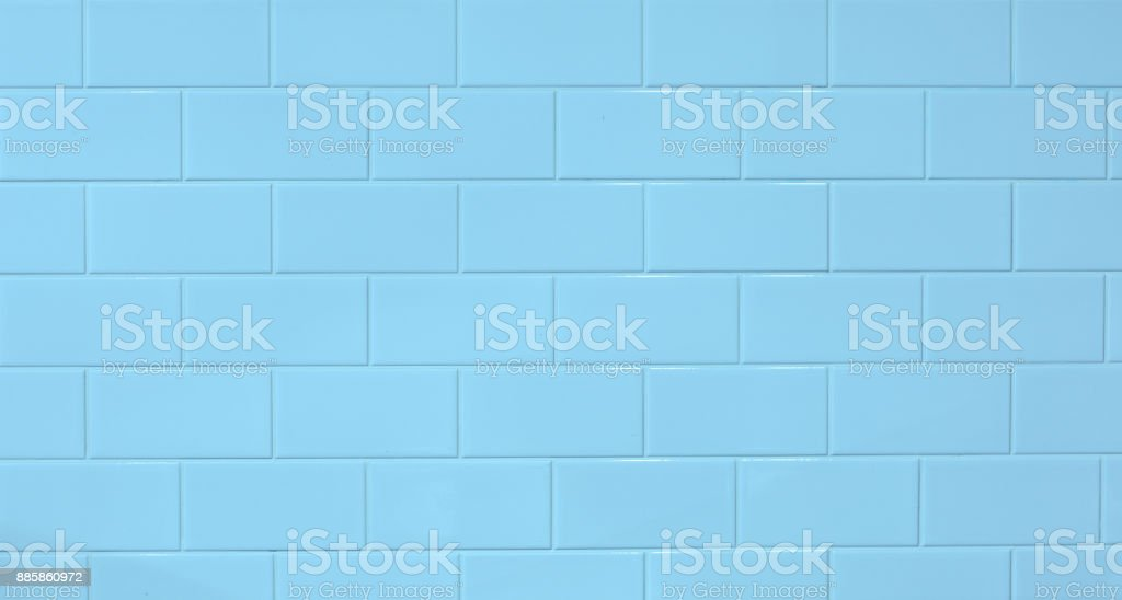 marble mosaic blue seamless tile stock photo