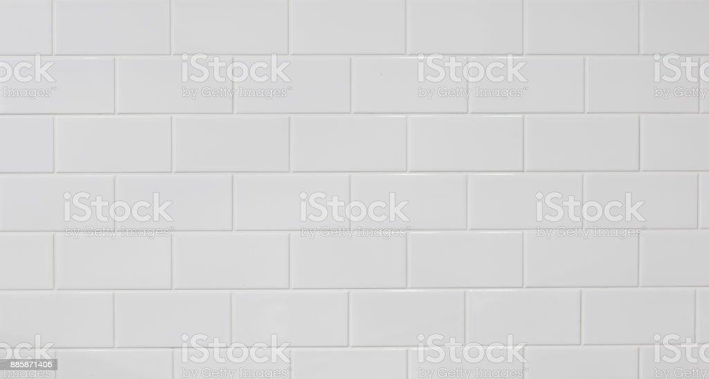 telha de mosaico de mármore branco sem costura - foto de acervo