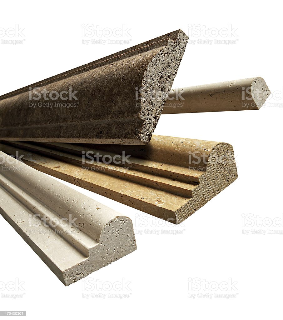 Marble Mouldings royalty-free stock photo