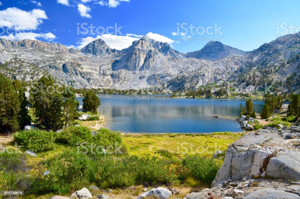 Marble Mountains stock photo