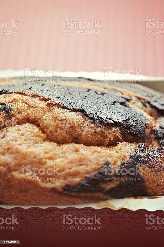 Marble Pound Cake royalty-free stock photo