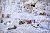 Marble Quarry. Carrara.