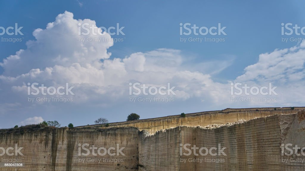 Marble Quarry Italy royalty-free stock photo