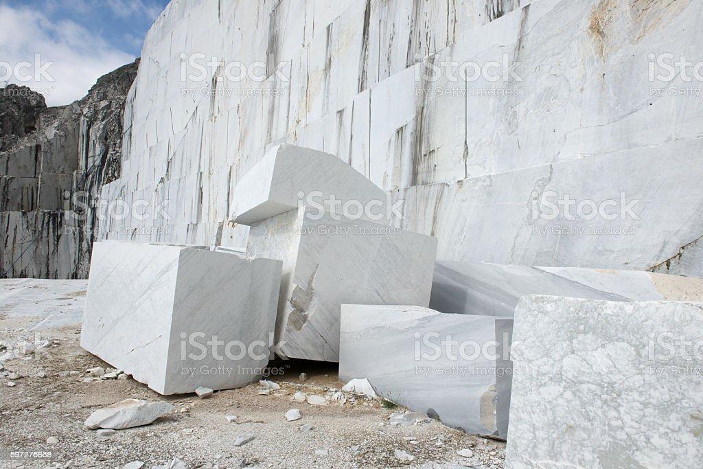 Marmor-quarry – Foto