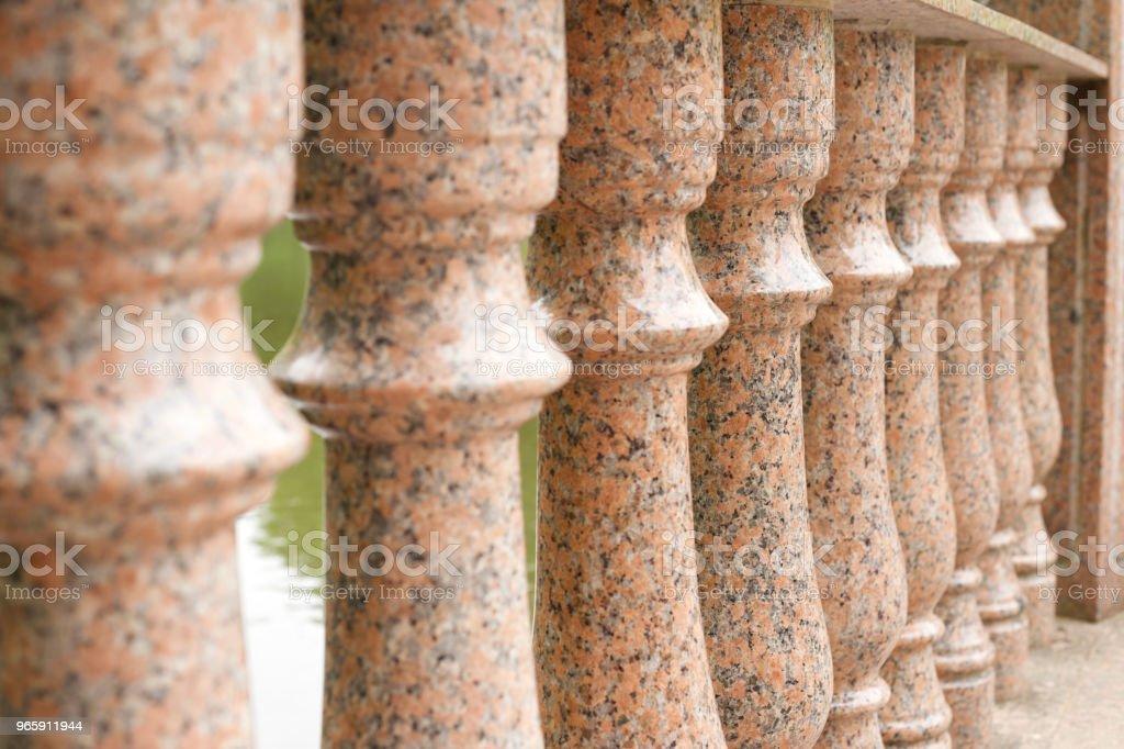 Marmeren bol - Royalty-free Architectuur Stockfoto