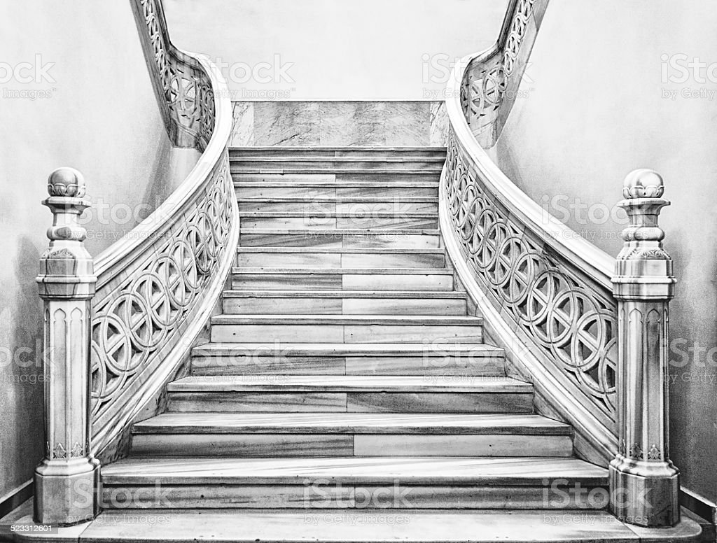 Marble Staircase Stock Photo Download Image Now Istock