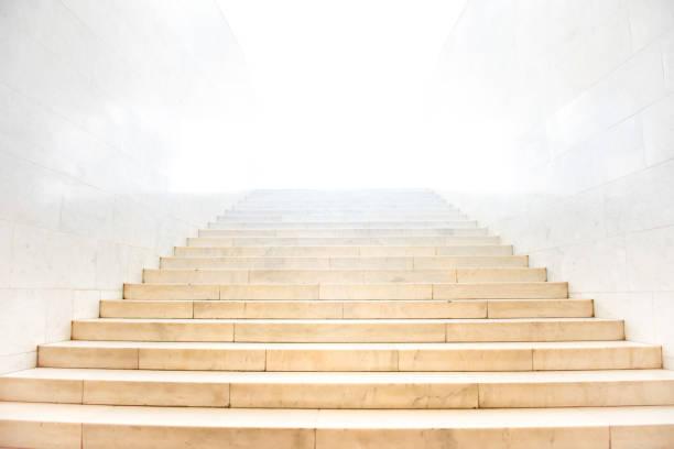 Marmor-Treppe mit Treppen – Foto