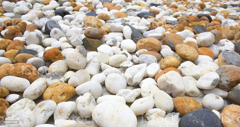 Marble stones and pebble background stock photo