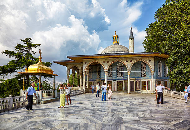 Marble Terrace in Topkapi Palace, Istanbul – Foto