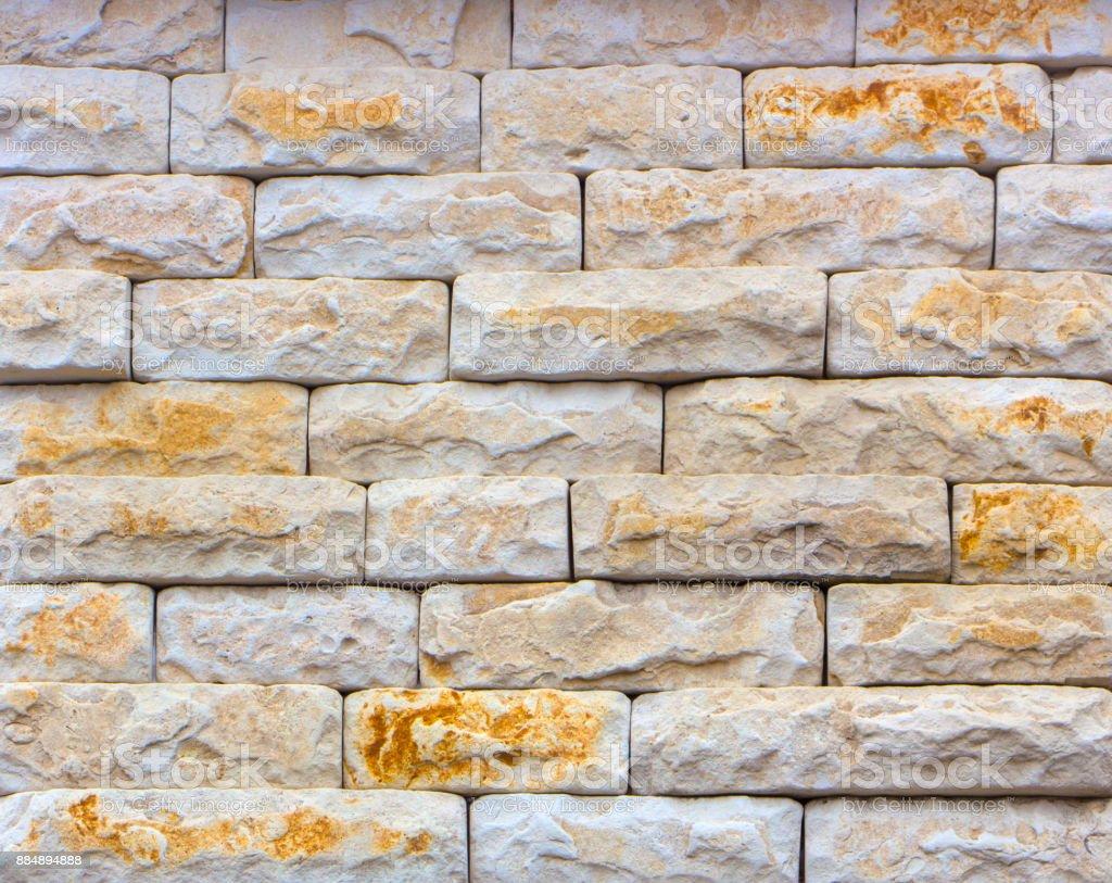 Mur En Pierre Naturelle photo libre de droit de brique décorative de texture de