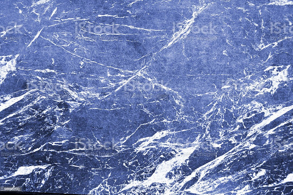 Marble texture in blue and white swirls royalty-free stock photo