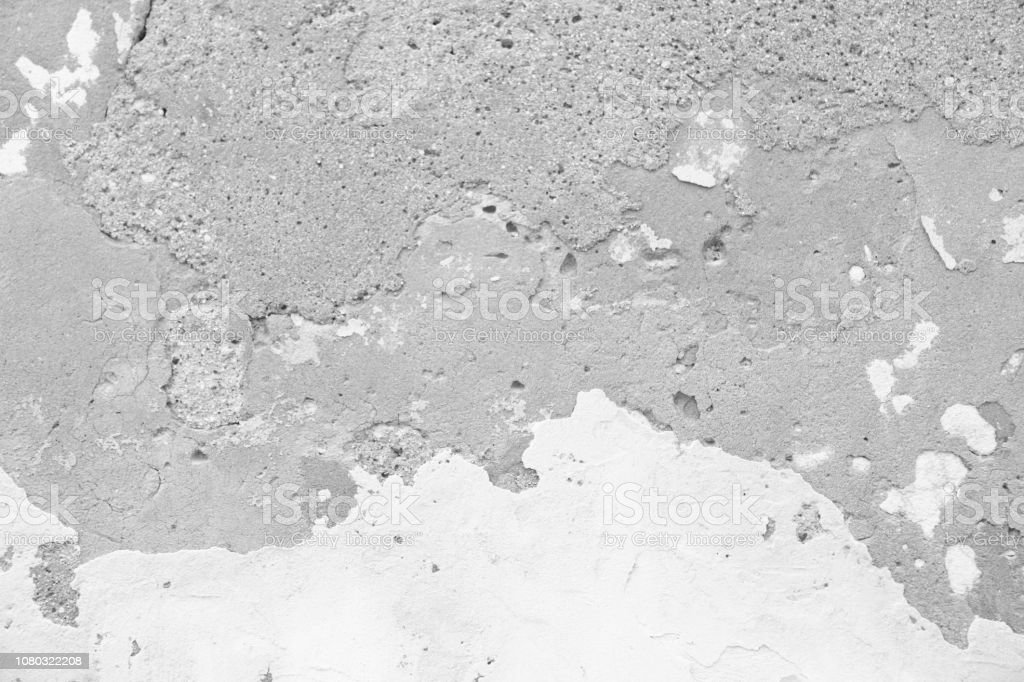 Marble Texture Marble Background Empty Gray And White Background From The Old Wall Of The Building Cracked Gray Plaster Gray Background For Design Design And Template Stock Photo Download Image Now