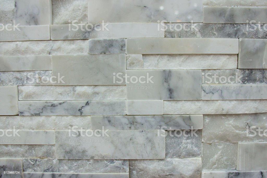 Piastrelle di marmo parete motivo a trama di sfondo bianco e grigio di colore fotografie stock - Piastrelle di marmo ...