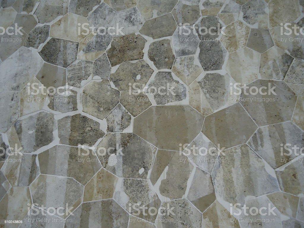 marble wall pattern Walhalla Regensburg stock photo