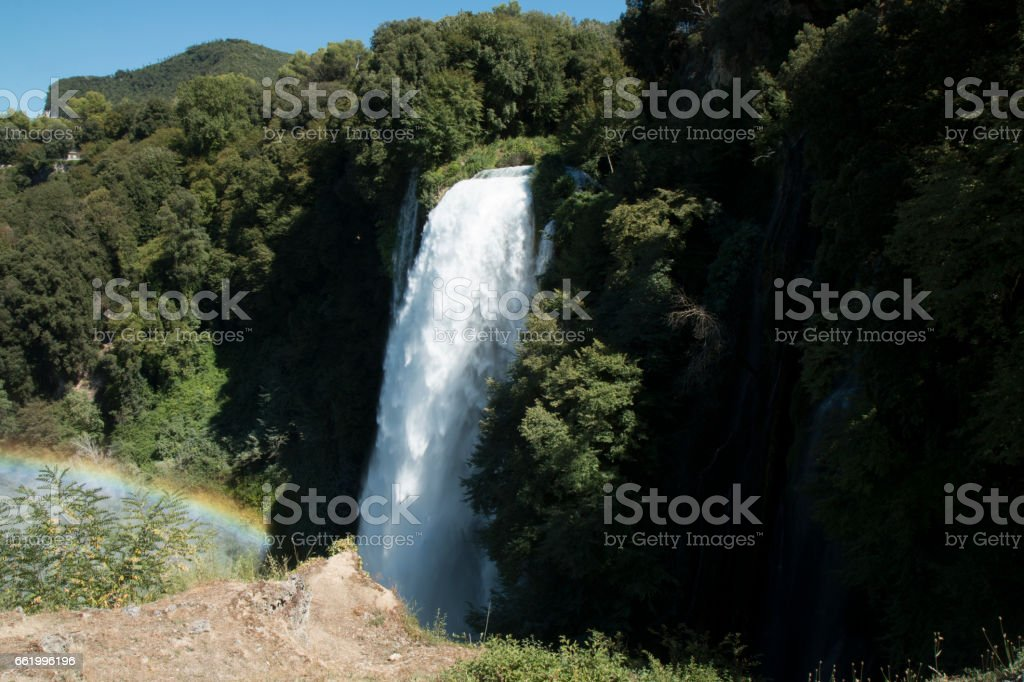 cascate delle marmore royalty-free stock photo