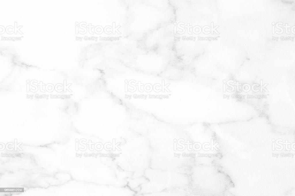 Marmer Wit en textuur tegel keramische grijze achtergrond marmer voor binnenhuisinrichting en buiten. - Royalty-free Aansteken Stockfoto