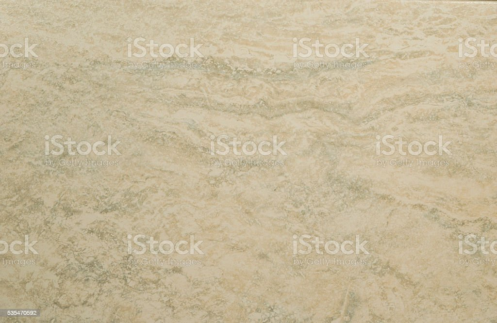 Marbled Tan Porcellanato Tile Background stock photo
