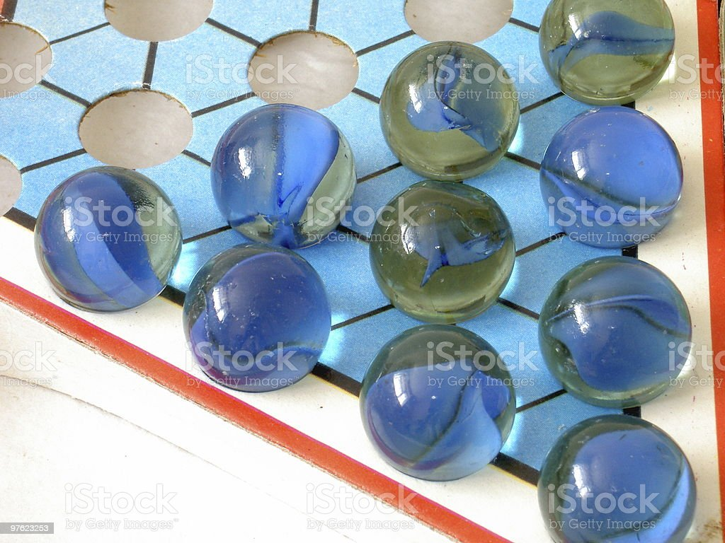 Marbles game royalty-free stock photo