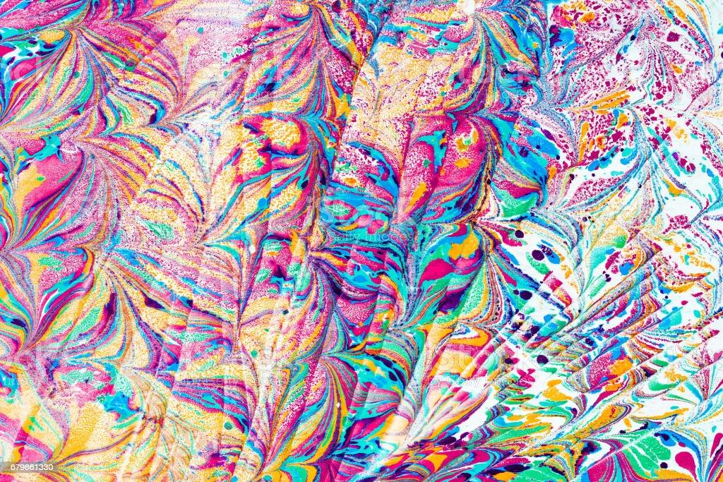 marbling art background stock photo