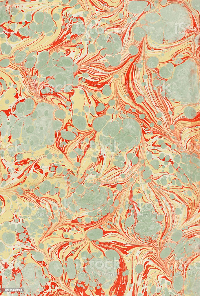 marbling art stock photo