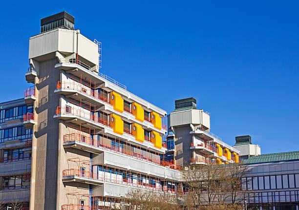 marburg university hospital - marburg uni stock-fotos und bilder