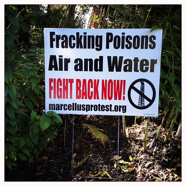 Marcellus Shale Fracking Poisons Stock Photo - Download