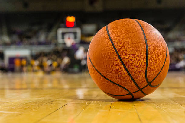 march madness - basketball ball stock photos and pictures