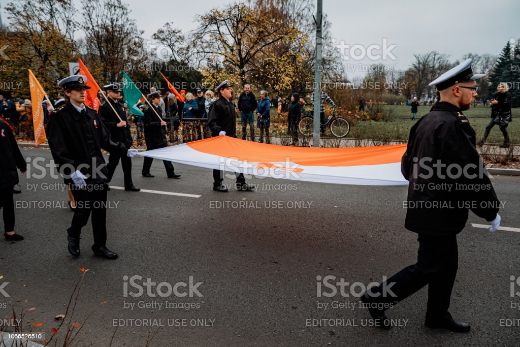 march of independence for 100 years in Poland / Gdynia – zdjęcie