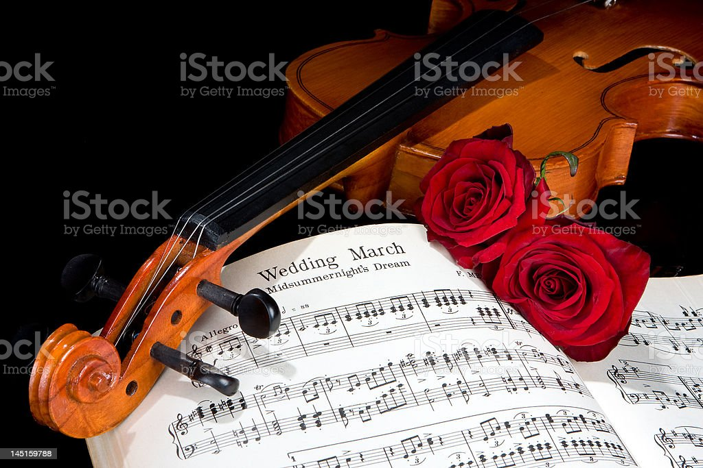 March of love stock photo