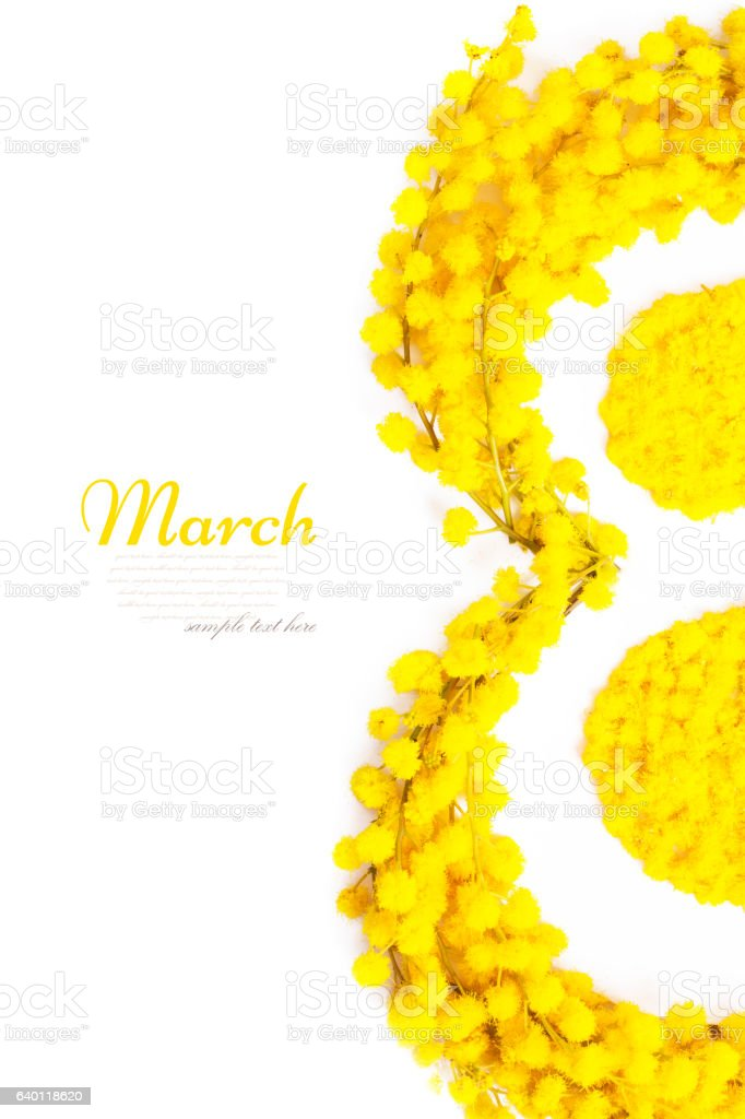 8 March stock photo