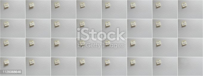 istock March set: Calendar date on a yellow sticky note with copy space on white background. 1125068646