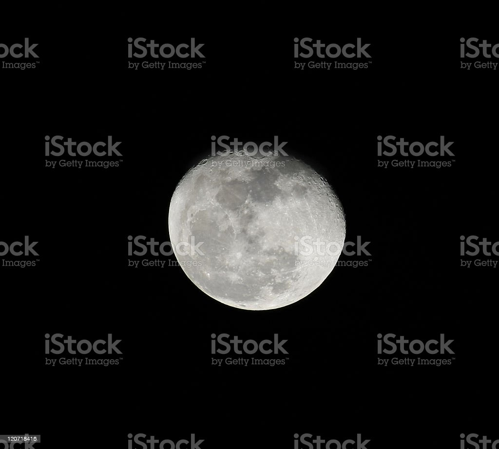 Moon shot in central Florida on a clear night in March of 2011. It is...