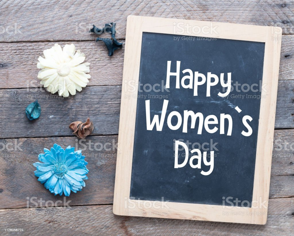 8 march Women`s day stock photo