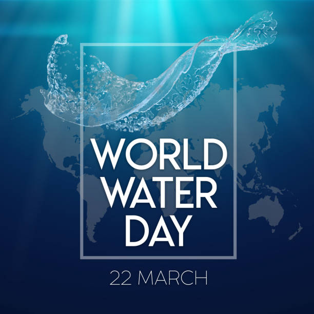 22 march world water day. stock photo