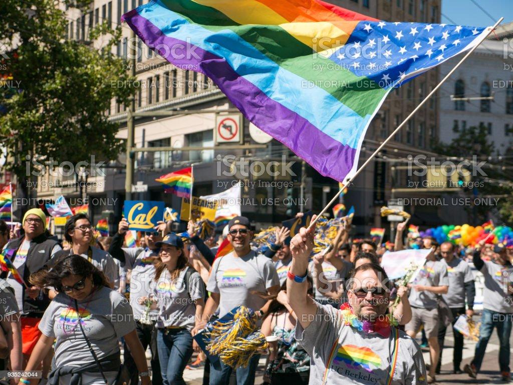 San Francisco Pride Parade Straights For Gay Rights Group