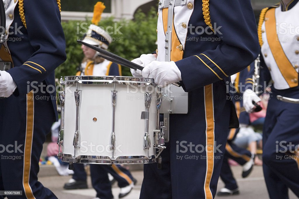 Marching Band royalty-free stock photo