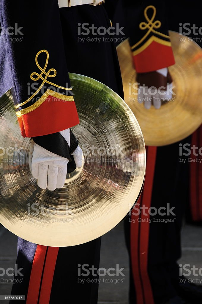 Marching band,Jersey. stock photo