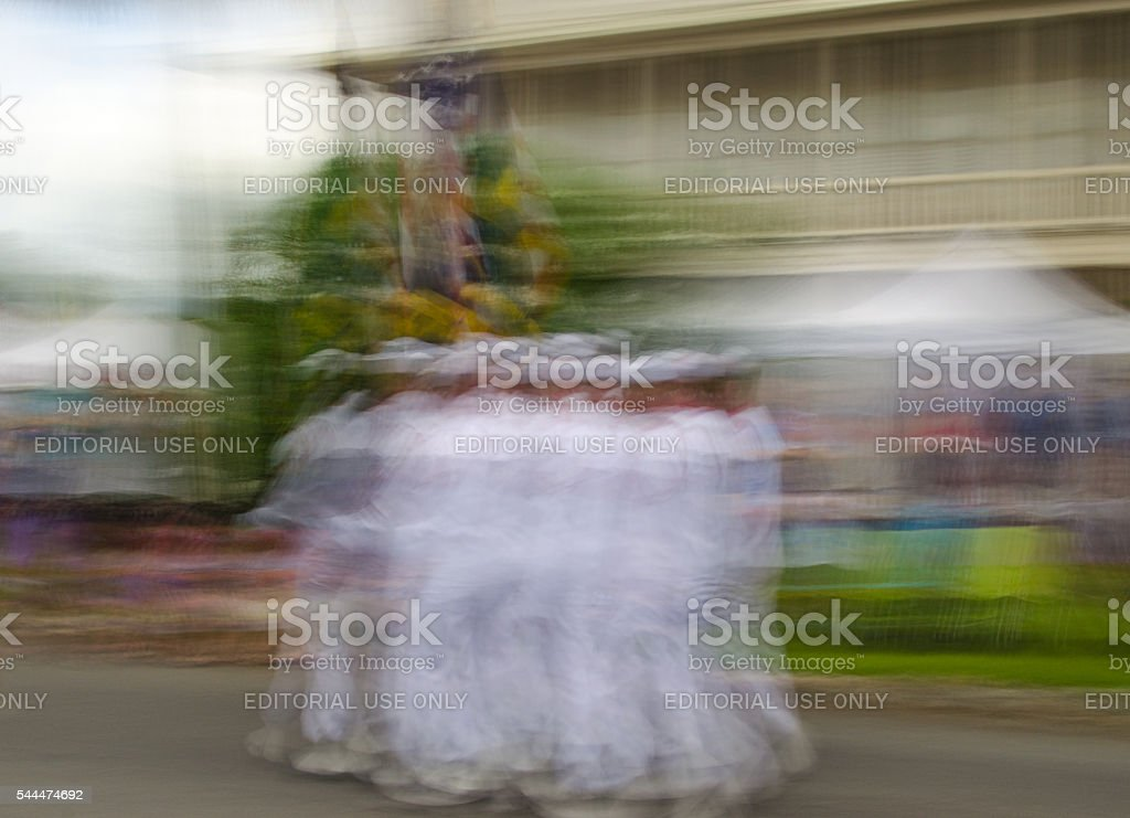 Marching Sailors stock photo