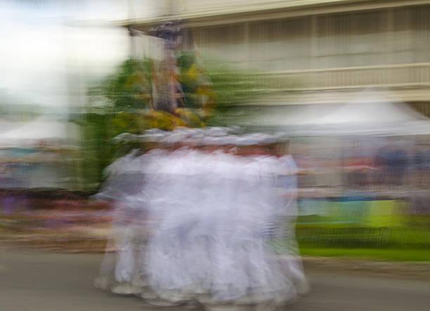Marching Sailors stock photo