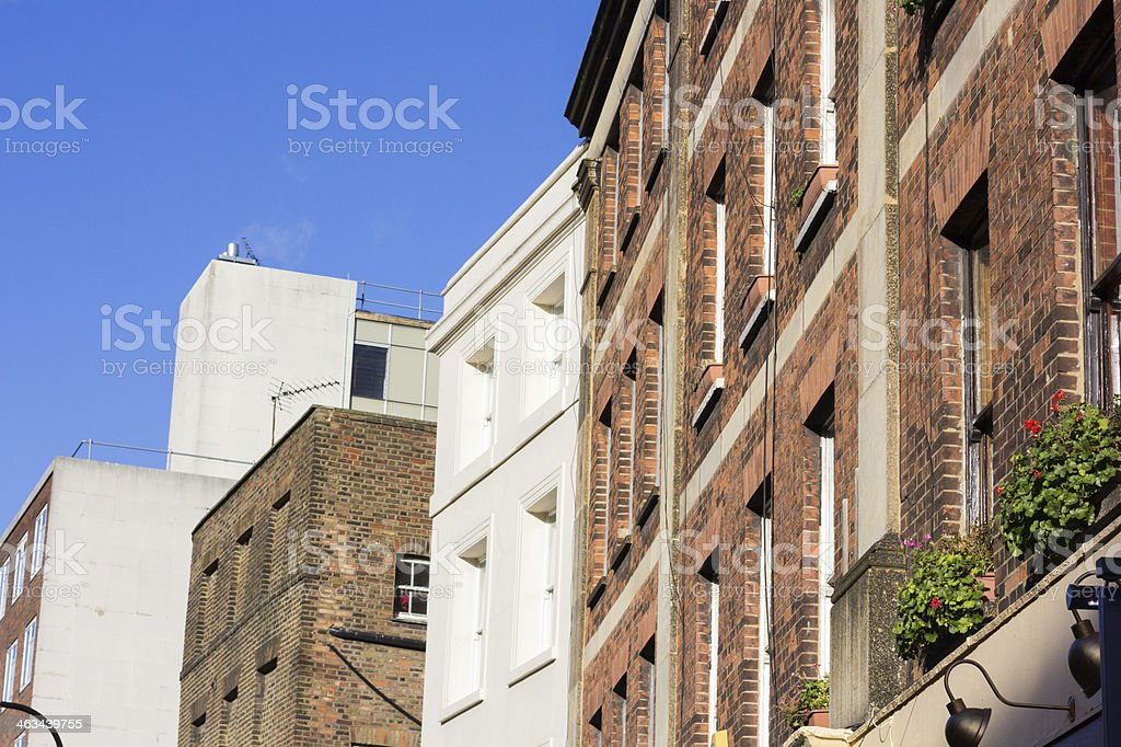 Marchmont Street in Bloomsbury, London royalty-free stock photo